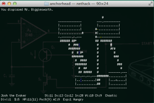 nethack in progress