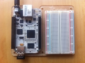 I went shopping at Adafruit and picked up a wifi module, breadboard, and a proto plate.