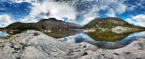 Mills Lake panorama.  More here.