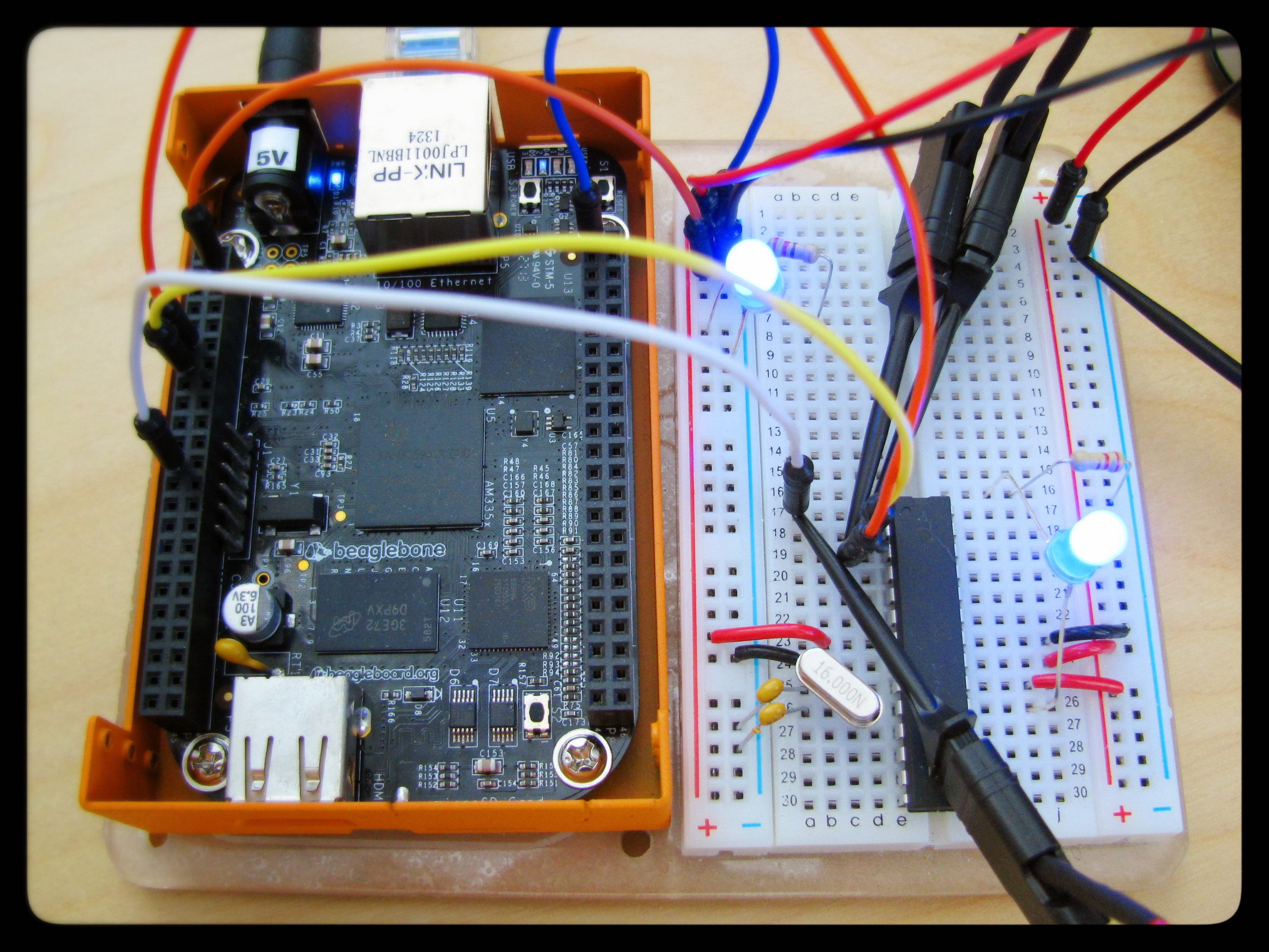Programming the ATmega328P from a BeagleBone Black – fortune