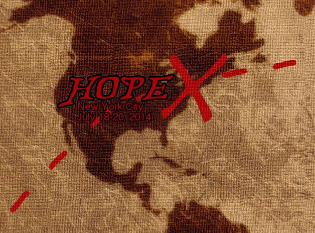 I'm speaking at HopeX!