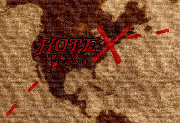 I'm speaking at Hope X!
