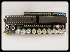 The blinky daughterboard.